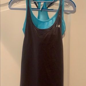 Under Armour Sports Tank with built-in bra.